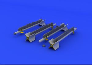 Eduard 672185 R-3S missiles for MiG-21 EDUARD 1/72