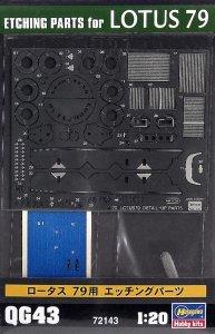 Hasegawa QG43 (72143) Lotus 79 PE Set 1/20