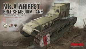 Meng Model TS-021 British Medium Tank Mk.A Whippet