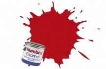 Humbrol 153 INSIGNIA RED MATT