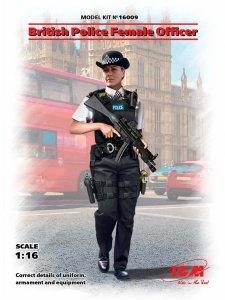 ICM 16009 British Police Female Officer 1/16