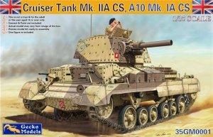 Gecko Models 35GM0001 CRUISER TANK MK.II ACS WITH INTERIOR (1:35)