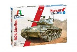 Italeri 6587 M24 Chaffee Korean War 1/35