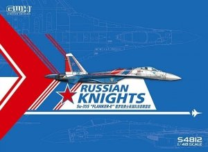 Great Wall Hobby S4812 Su-35S Russian Knights Flanker-E 1/48