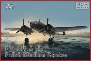 IBG 72512 PZL.37A bis Łoś - Polish Medium Bomber 1/72