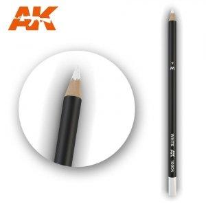 AK Interactive AK 10004 Watercolor Pencil WHITE