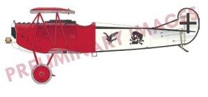 Eduard 7407 Fokker D.VII (OAW) Weekend edition 1/72