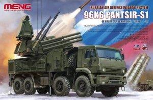 Meng Model SS-016 Russian Air Defense Weapon System 96K6 Pantsir-S1 1/35