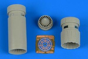 Aires 7353 IAI Kfir C2/C7 exhaust nozzles 1/72 AMK