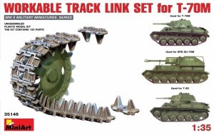 MiniArt 35146 Workable Track Link Set for T-70M 1:35
