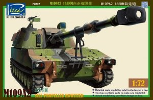 Riich Models RT72002 M109A2 Paladin Self-Propelled Howitzer 1:72
