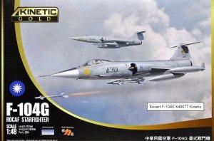 Kinetic  K48077 F-104G ROCAF Starfighter 1/48