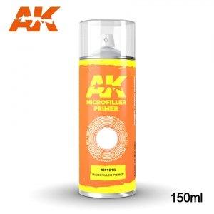AK Interactive AK 1018 MICROFILLER PRIMER SPRAY 150ml