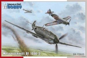 Special Hobby 72443 Bf 109E-3 1/72