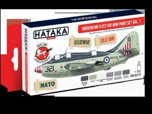 Hataka HTK-AS113 Modern RN Fleet Air Arm Paint Set Vol. 1