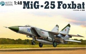 Kitty Hawk 80119 MiG-25 PD / PDS Foxbat (1:48)
