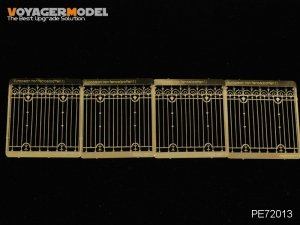 Voyager Model PE72013 European Iron Fence (Pattern 1) for all 1/72