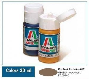 Italeri 4846 FLAT DARK EARTH ANA 617 20ml