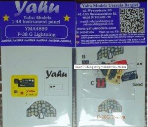 Yahu YMA4889 P-38G Lightning 1/48