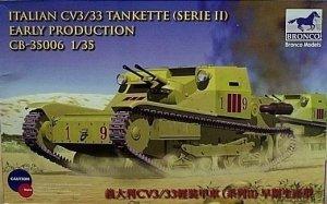 Bronco CB35006 Italian CV L3/33 Tankette Serie II 1/35