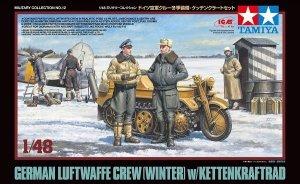 Tamiya 32412 German Luftwaffe Crew Winter w/Kettenkraftrad Kit 1/48