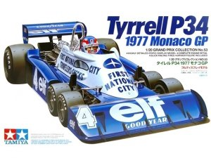 Tamiya 20053 Tyrrell P34 1977 Monaco GP (1:20)