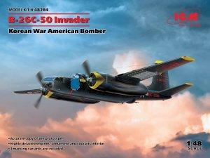 ICM 48284 B-26С-50 Invader, Korean War American Bomber 1/48