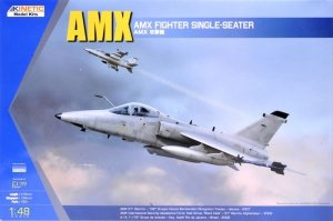 Kinetic K48026 AMX Ground Attack Aircraft 1/48