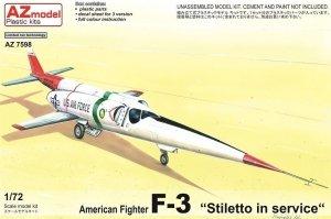 AZ Model AZ7598 F-3 Stilleto in service (1:72)