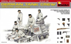 MiniArt 35249 GERMAN TANK CREW (WINTER UNIFORMS) SPECIAL EDITION 1/35