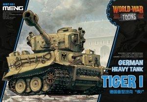Meng Model WWT-001 World War Toons German Heavy Tank Tiger I