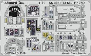 Eduard SS662 F-105D 1/72 TRUMPETER