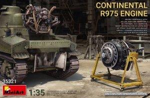 MiniArt 35321 Continental R975 Engine 1/35