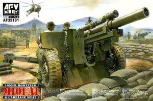AFV Club 35191 American M 101 A1 105mm Howitzer (1:35)