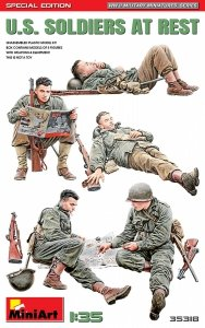 MiniArt 35318  U.S. Soldiers at Rest Special Edition 1/35