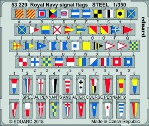 Eduard 53229 Royal Navy signal flags STEEL 1/350