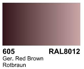 Vallejo 70605 Surface German Red Brown RAL 8012 17ml.