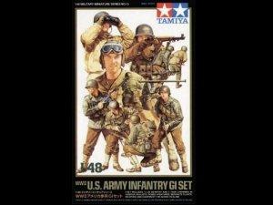 Tamiya 32513 US Infantry GI set (1:48)
