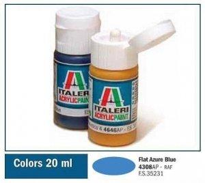 Italeri 4308 FLAT AZURE BLUE 20ml