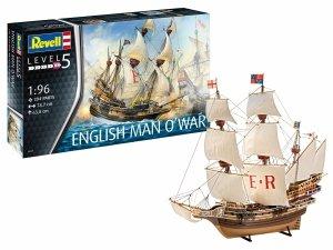 Revell 05429 English Man O'War 1/96