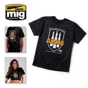 AMMO of Mig Jimenez 8000XL AMMO T-shirt ( rozmiar , size XL)