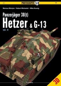 Kagero 0017 Panzerjäger 38 (t) Hetzer & G13 vol. II EN