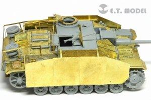 E.T. Model E72-019 WWII German StuG.III Ausf.G Schurzen (Late version) For DRAGON Kit 1/72