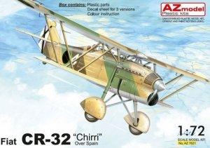 AZmodel AZ7621 Fiat CR-32 Chirri over Spain 1/72