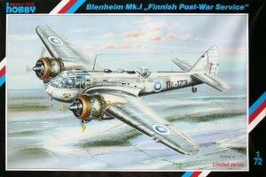 Special Hobby 72202 Blenheim Mk.I Finish Post War Service (1:72)