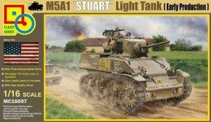 Classy Hobby MC16007 M5A1 STUART LIGHT TANK 1/16
