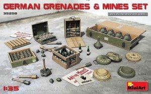 MiniArt 35258 GERMAN GRENADES & MINES SET 1/35