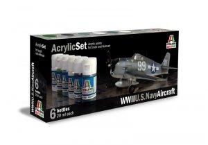 ITALERI 439AP - WWII U.S.Navy Aircraft - Acrylic Set