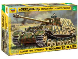 Zvezda 3653 German Ferdinand (1:35)