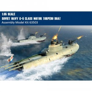 I Love kit 63503 Soviet Navy G-5 Class Motor Torpedo Boat 1/35